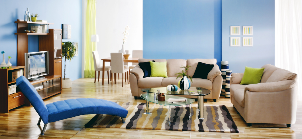 Give your home a clean, crisp, colorful appearance